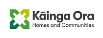 Kāinga Ora – Homes and Communities Logo