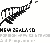 New Zealand AID - PGT Logo