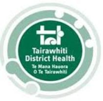 Tairawhiti District Health Board Logo